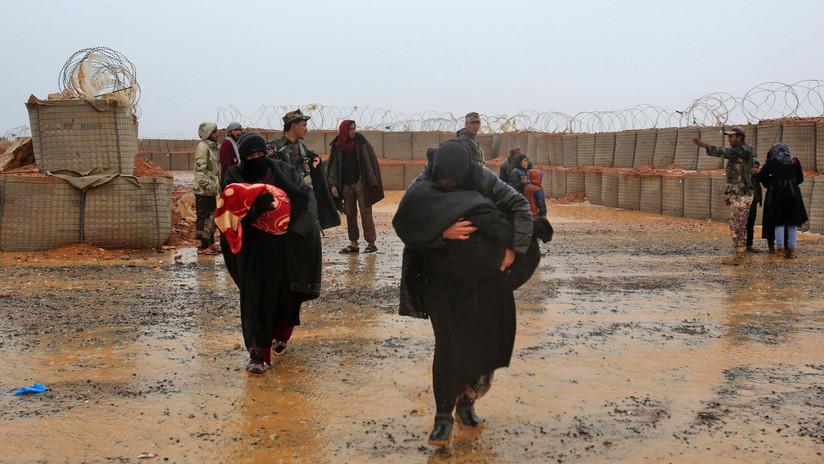 """Rusia y Siria: """"Ya es el día 1.781 del sufrimiento de los ciudadanos sirios en el campo de Rukban"""""""