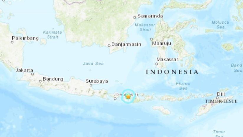 Un sismo de magnitud 5,5 se registra en Indonesia