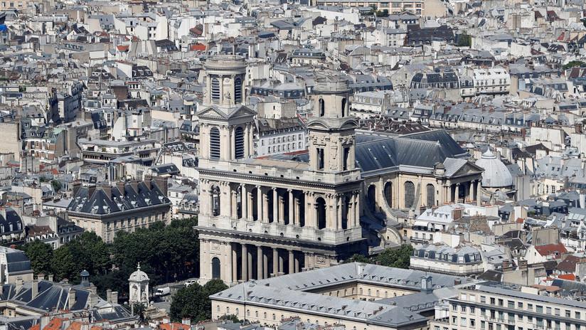 VIDEO, FOTOS: Incendio en la histórica iglesia de San Sulpicio de París