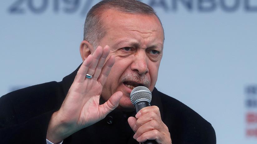 Critican a Erdogan por usar el video del ataque en Nueva Zelanda en su campaña electoral