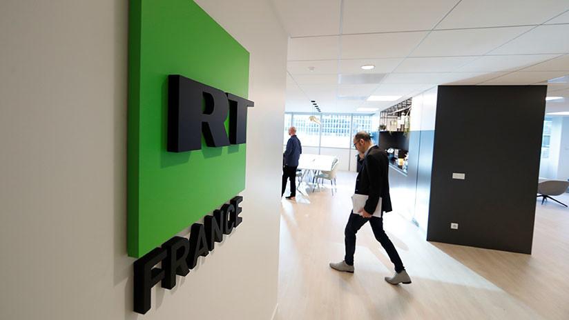 RT France denuncia ante la Policía amenazas contra la directora y los periodistas del canal