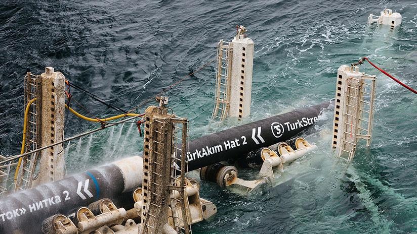 Turquía: Anuncian que han quedado unidos los tramos submarino y terrestre del gasoducto Turkish Stream
