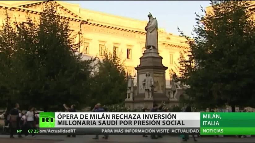 La ópera de Milán rechaza la inversión millonaria saudita por la presión social