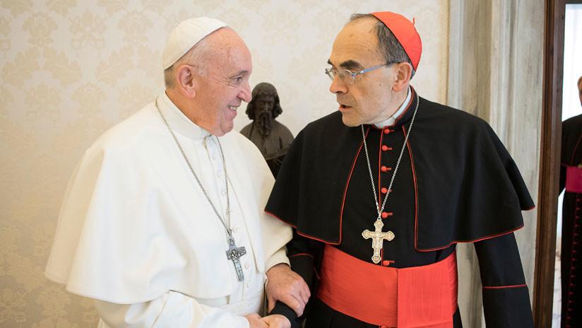 El papa Francisco rechaza la dimisión del cardenal francés condenado por encubrir abusos sexuales