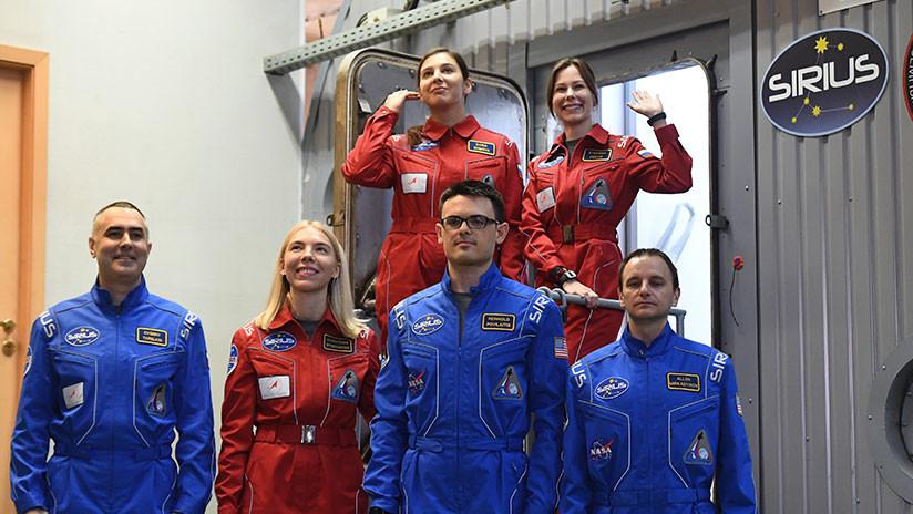Experimento SIRIUS: Seis astronautas de Rusia y EE.UU. viajan a la Luna sin salir de Moscú