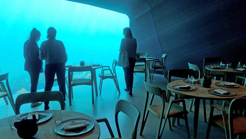 FOTOS: Abre en Noruega el primer restaurante submarino de Europa
