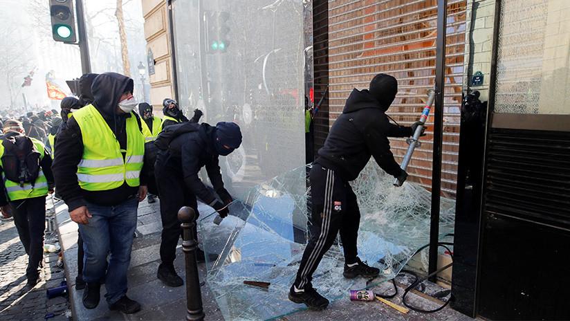 Francia recurrirá a las fuerzas militares antiterroristas en la próxima protesta de los 'chalecos amarillos'