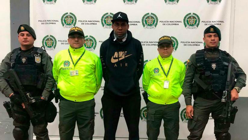 Detienen a una exestrella del fútbol de Colombia por narcotráfico y EE.UU. pide su extradición