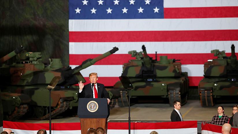 Trump invierte 6.000 millones en tanques M1 Abrams y los llama