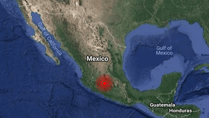 Se siente en Ciudad de México un sismo de magnitud 4,8 registrado en la zona central de Guerrero