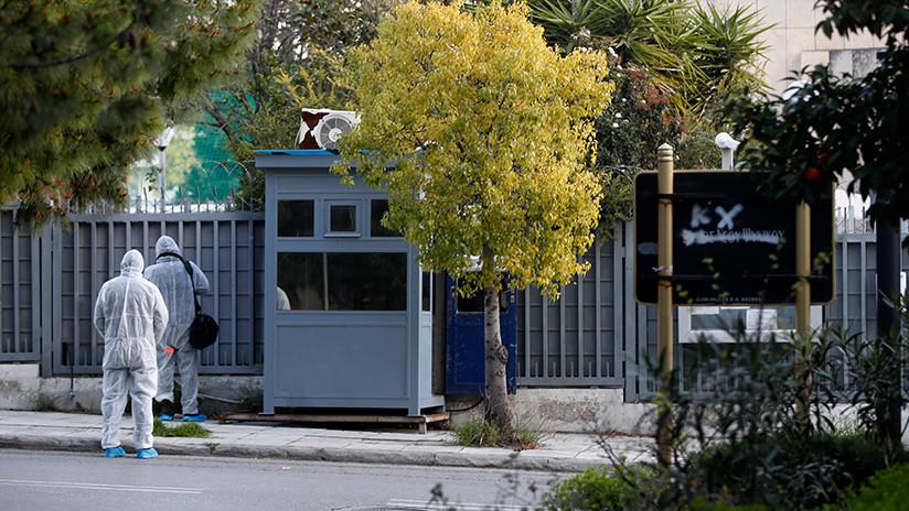 Lanzan una granada contra el Consulado ruso en Atenas