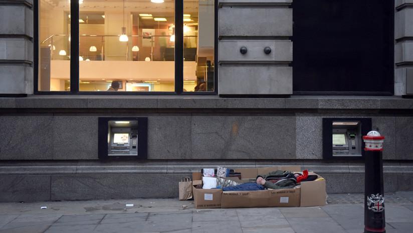 La realidad oculta de los sintecho profesionales del Reino Unido (con suculentas ganancias y domicilios capitalinos)