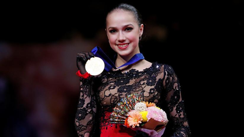 La rusa Zaguítova gana el Mundial de patinaje artístico en Japón
