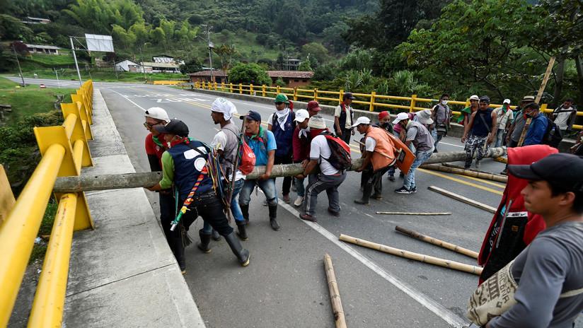 El Gobierno colombiano y los indígenas se sientan a dialogar para poner fin a las protestas, ¿qué reclaman?
