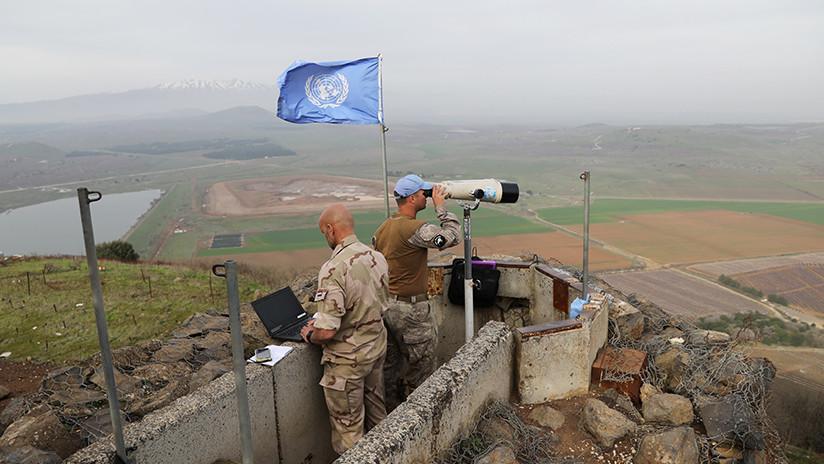 La ONU: El estatus de los Altos del Golán permanece sin cambios