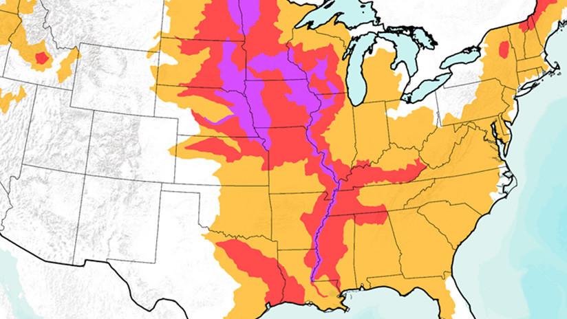 Dos tercios de EE.UU. están en peligro de nuevas inundaciones por la 'bomba ciclónica' que ya se ha cobrado la vida de 3 personas