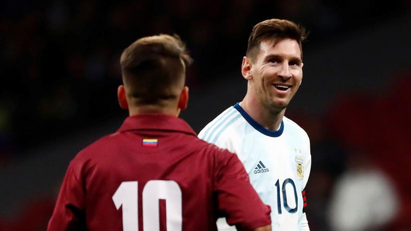 La avalancha de memes a Messi después de la derrota de Argentina ante Venezuela