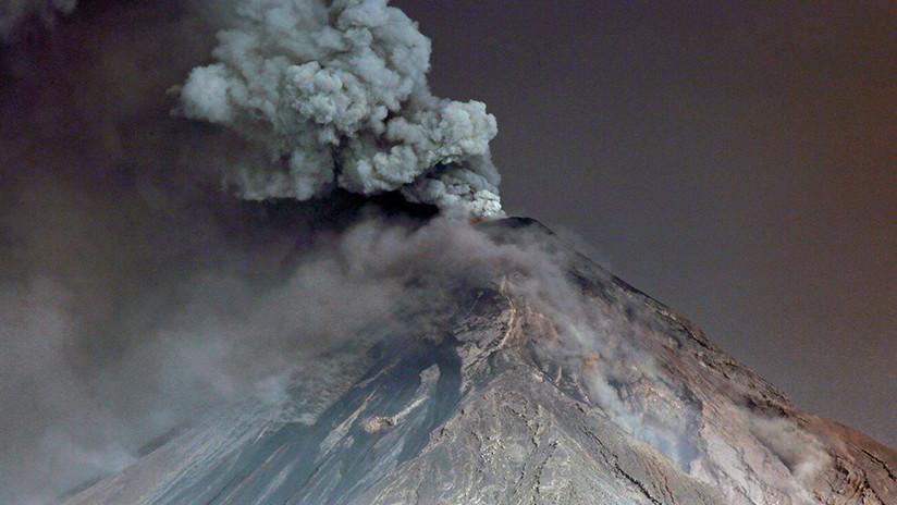 Guatemala: El Volcán de Fuego registra explosiones (VIDEOS, FOTOS)