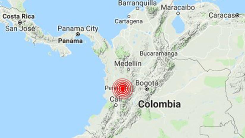 Un fuerte sismo de magnitud 6,0 sacude gran parte de Colombia