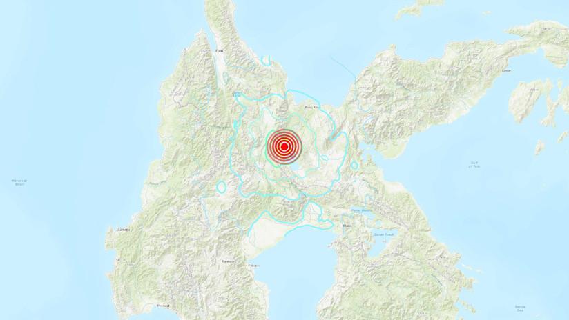Un sismo de magnitud 5,4 sacude Indonesia