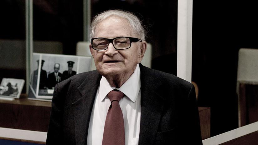 Muere Rafi Eitan, el exespía israelí que capturó al criminal de guerra nazi Adolf Eichmann