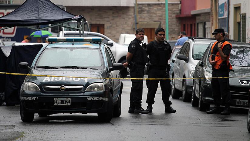 VIDEO: Se produce una balacera entre 'motochorros' y policías en plena calle de Buenos Aires