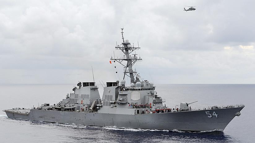 ¿Tensión en aumento? El Pentágono envía dos buques al estrecho de Taiwán