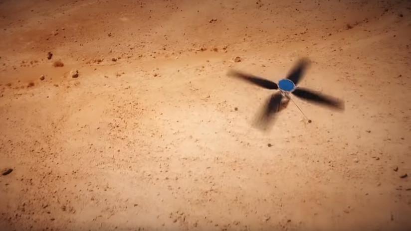 Así será el primer helicóptero que la NASA quiere enviar a Marte