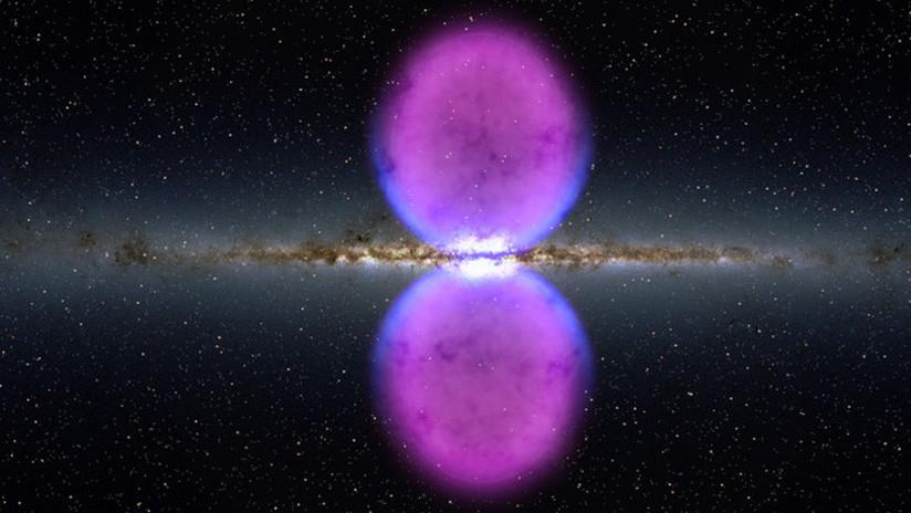 Dos misteriosas 'chimeneas' vinculan el centro de la Vía Láctea a superburbujas de rayos gamma