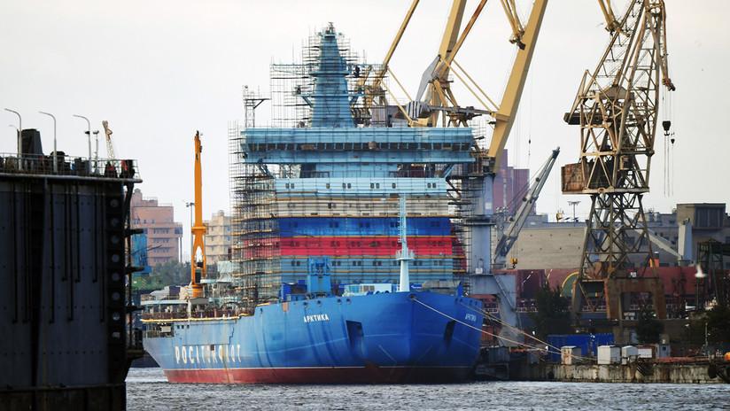 China construirá su primer rompehielos de propulsión nuclear para operaciones en el Ártico
