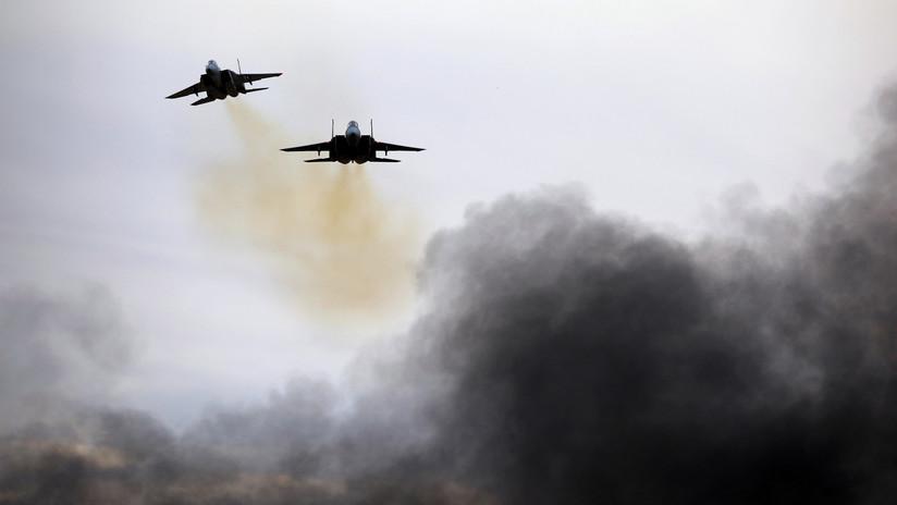 Israel ataca objetivos de Hamás en la Franja de Gaza en respuesta al lanzamiento de cohetes hacia Tel Aviv