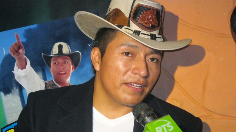 El cantante popular ecuatoriano 'Delfín hasta el fin' es el virtual ganador de la alcaldía de Guamote
