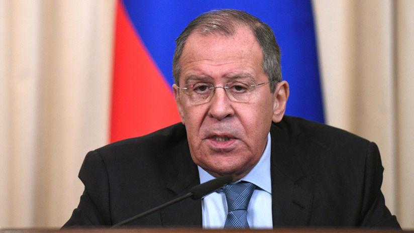 """Lavrov: """"Los intentos de Washington de organizar un golpe de Estado en Venezuela están violando la Carta de la ONU"""""""