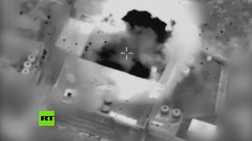 """PRIMERAS IMÁGENES: Ataque aéreo israelí contra """"el ala militar"""" de Hamás en Gaza"""