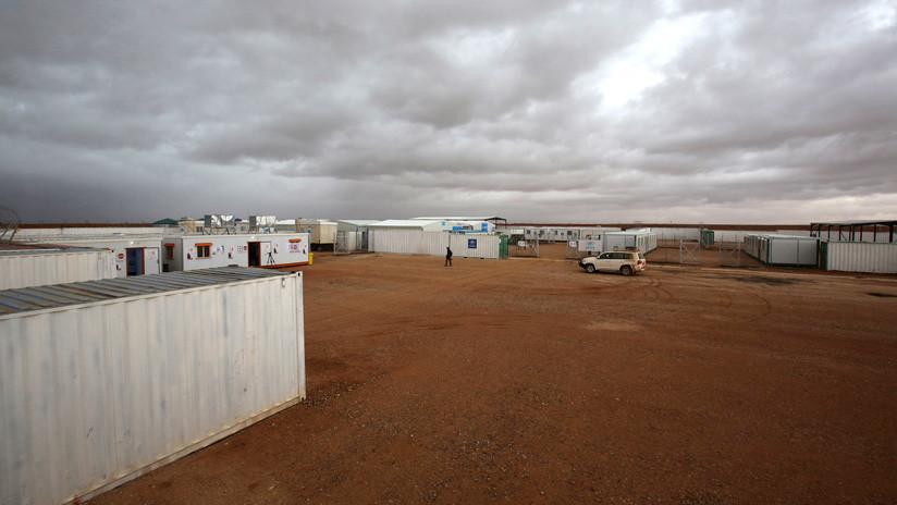 EE.UU. niega la entrada al campo de refugiados de Rukban a representantes de Rusia, Siria y varias organizaciones