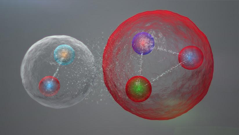 Descubren una nueva partícula inusual de tipo pentaquark gracias al Gran Colisionador de Hadrones