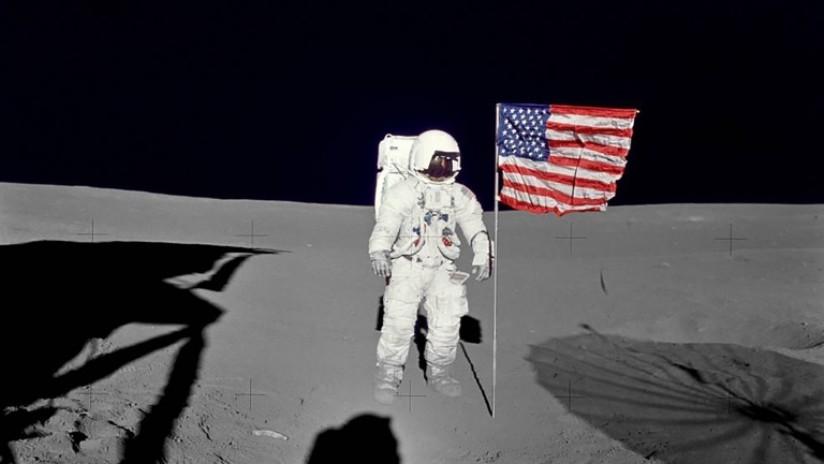 Trump quiere que astronautas estadounidenses vuelvan a la Luna antes de 2024