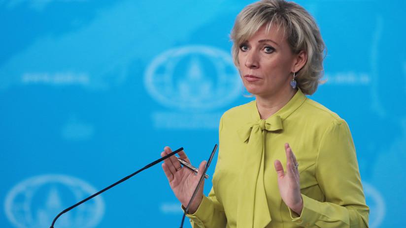 """Zajárova: """"Antes de sugerir a alguien irse de Venezuela, EE.UU. debe implementar su salida de Siria"""""""