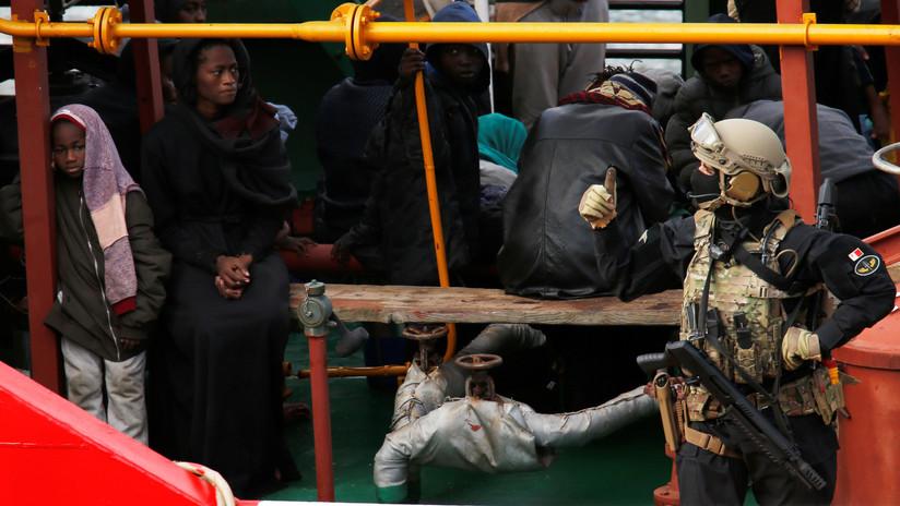 Las Fuerzas Armadas de Malta toman el control del barco secuestrado por migrantes rescatados cerca de Libia