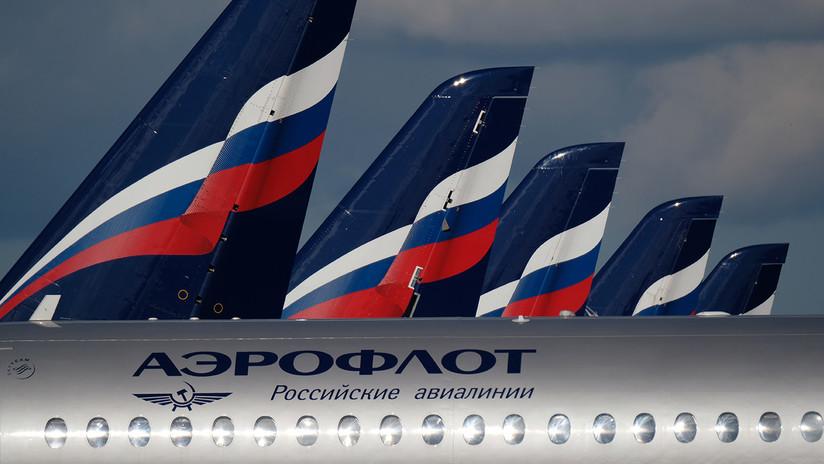 La rusa Aeroflot encabeza la lista de las aerolíneas con la flota de aviones más joven del mundo