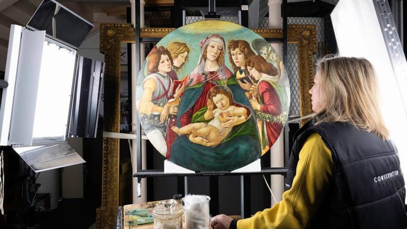 Descubren que una supuesta copia del cuadro 'Virgen de la granada' de Botticelli es original