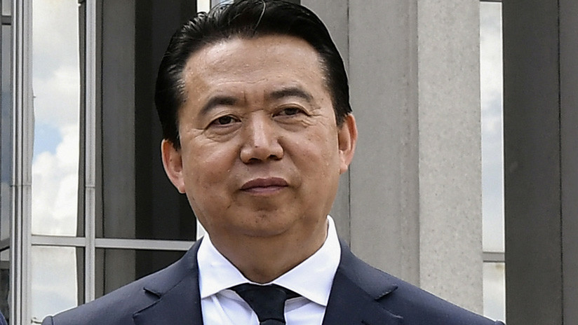 China procesará al expresidente de la Interpol por aceptar sobornos