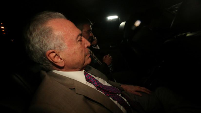 Brasil acepta segunda denuncia por corrupción contra Temer