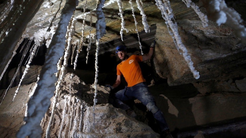 FOTOS: Descubren en Israel la cueva de sal más larga del mundo cerca de donde la mujer de Lot se convirtió en estatua