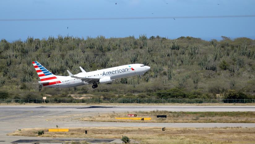 American Airlines suspende indefinidamente sus vuelos a Venezuela