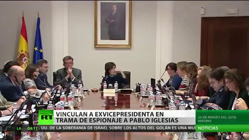 Vinculan a exvicepresidenta del Gobierno de España en el caso de espionaje a Pablo Iglesias