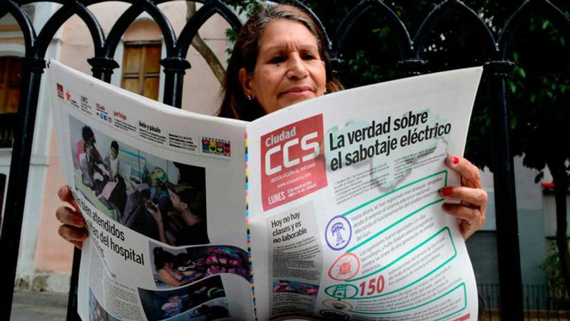 ¿Cómo sale a la luz un diario venezolano en medio de la oscuridad de un apagón?