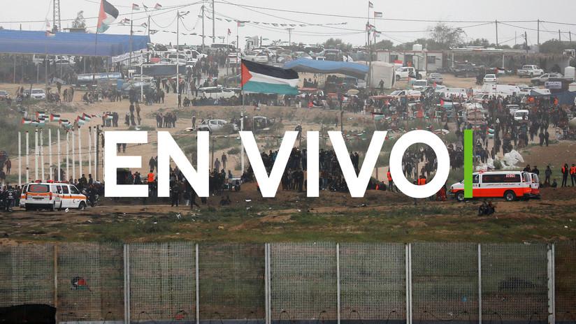 Aniversario de protestas en frontera Gaza e Israel deja tres muertos