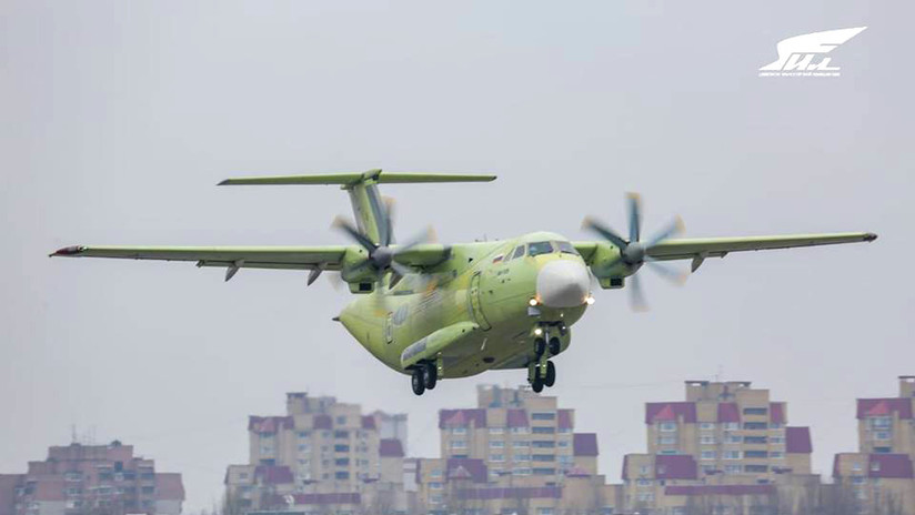 VIDEO, FOTOS: El nuevo avión de transporte militar Il-112V ruso realiza con éxito su primer vuelo