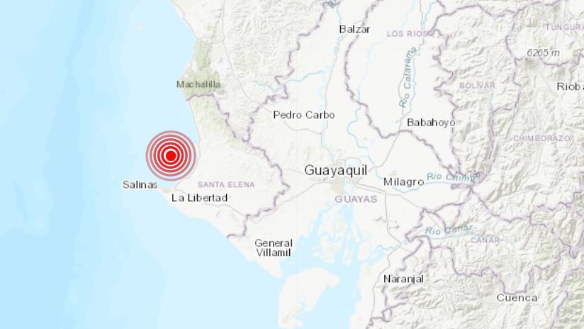 Sismo de fuerte magnitud sacudió al país — VIDEOS] Ecuador